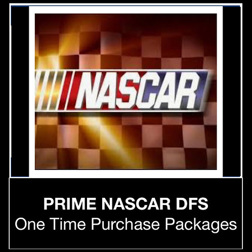 PRIME NASCAR DFS Package (Daily,Weekly,Monthly)