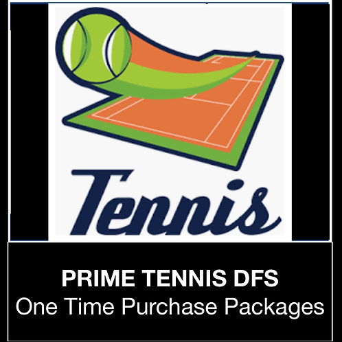 PRIME Tennis DFS Package (Daily,Weekly,Monthly,Season)