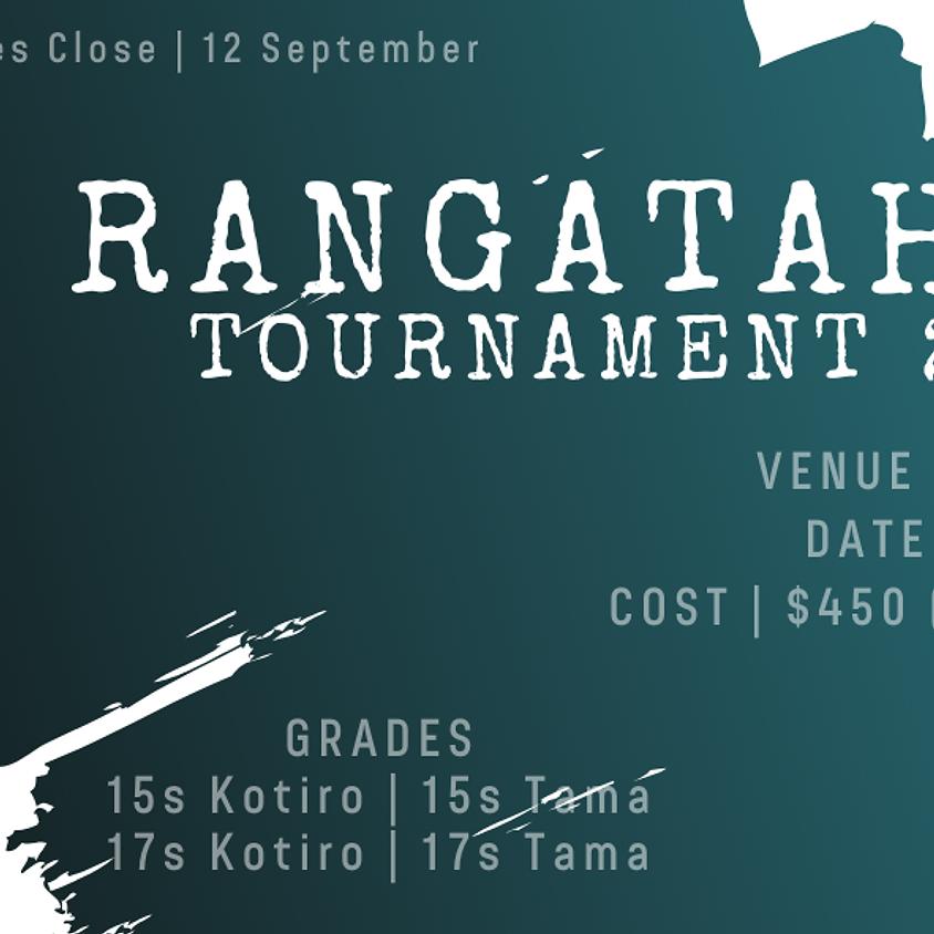 NZMRL Rangatahi Tournament 2020