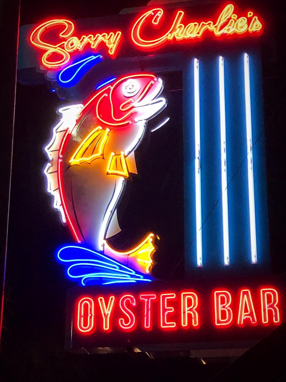 SORRY CHARLIE'S OYSTER BAR RESTAURANT - SAVANNAH, GA