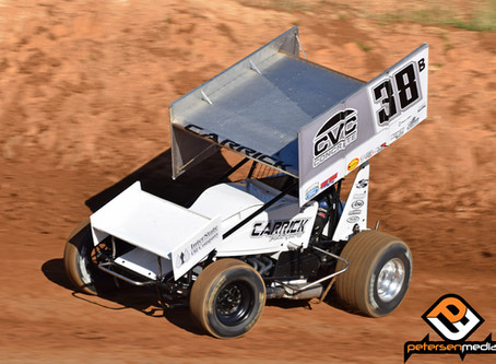 Blake Carrick Bounces Back From Opening Lap Wreck To Record Second Consecutive Ninth Place Finish at