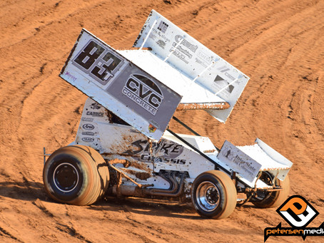 Tanner Carrick Records Season Best Fifth Place Finish at Placerville Speedway