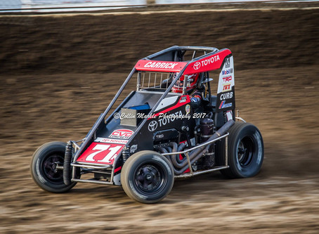 Tanner Carrick Has Up and Down Weekend at Valley Speedway