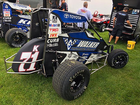 Bad Luck Knocks Tanner Carrick Out of Pepsi Nationals