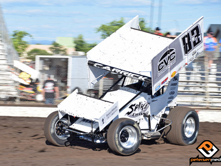 Tanner Carrick Ninth with Civil War Series at Mel Hall Memorial