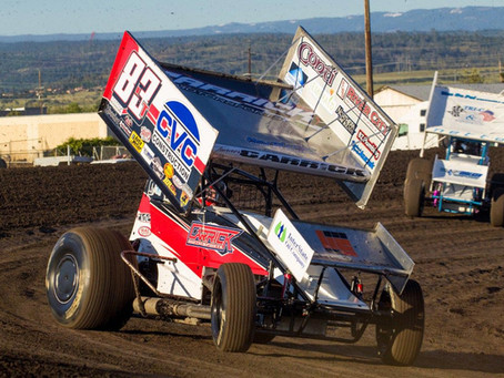 Tanner Carrick Fits Weekend of Sprint Car Racing In Before Busy Midget Stretch