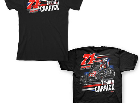 Tanner Carrick Merchandise Now Available!