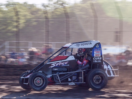 Tanner Carrick Records Two Top-Five Finishes in First Trip to Williams Grove Speedway