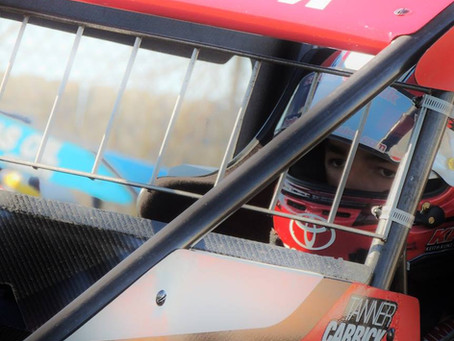 Tanner Carrick Scores Two Sixth Place Finishes with POWRi Series