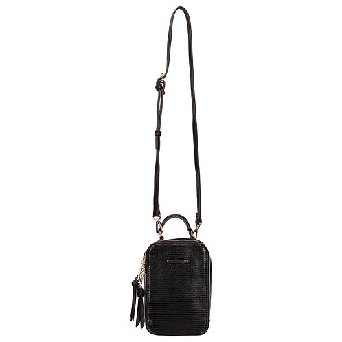 CROSSBODY PEQUENA LEZARD ALONGADA