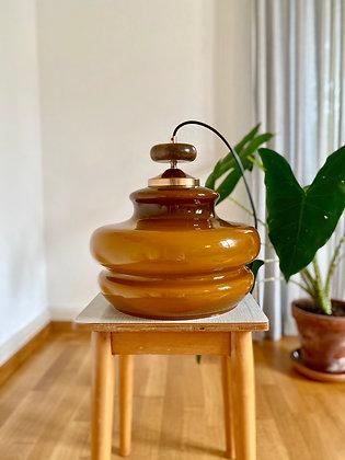 Brown vintage pendant lamp
