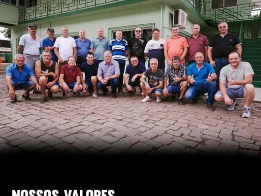 # NOSSOS VALORES