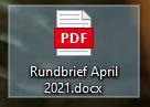 Rundbrief April 21
