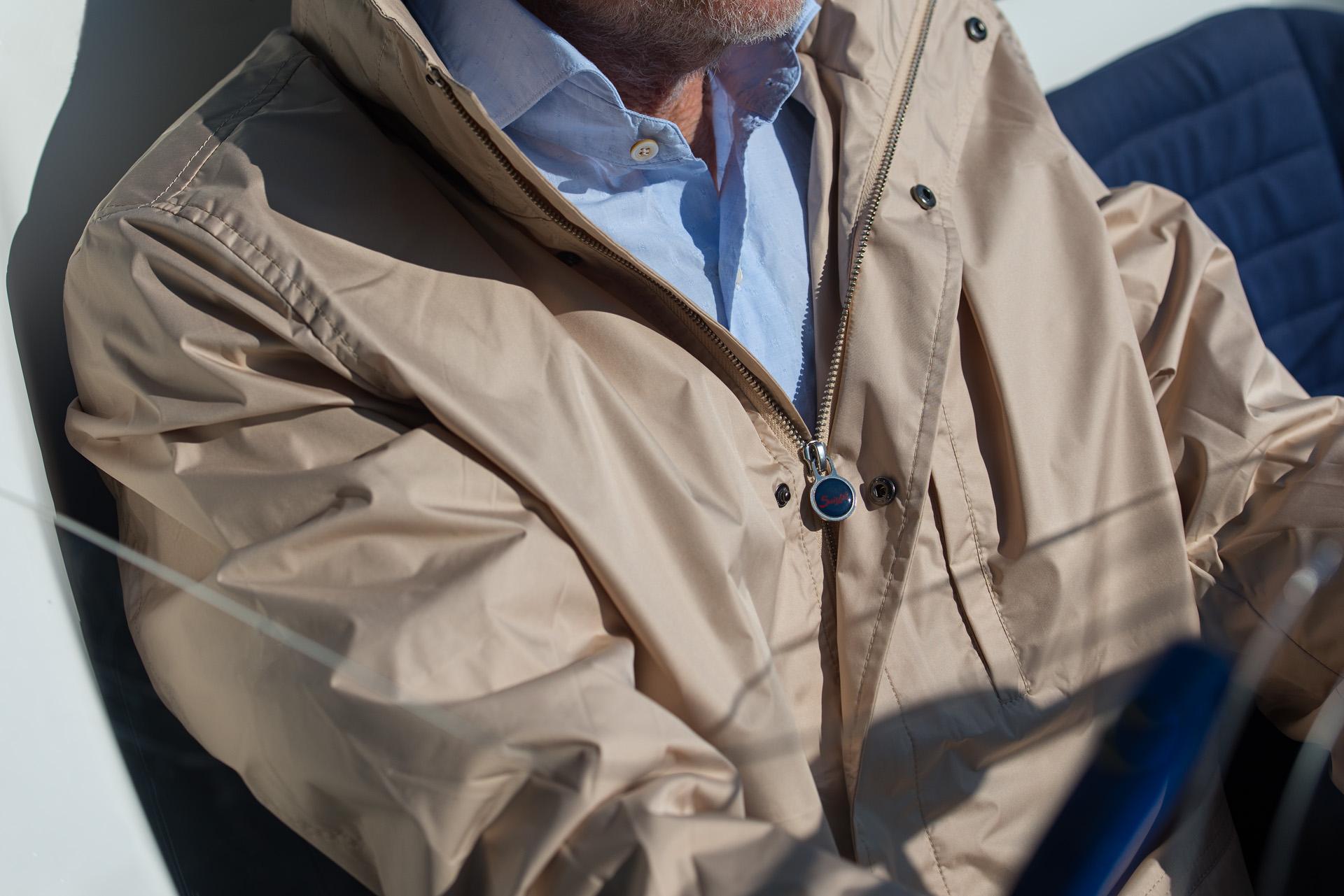 Suixtil - Zandvoort Raincoat- Beige VdE -  (12)