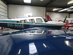 lakbehandeling vliegtuig A-Glaze
