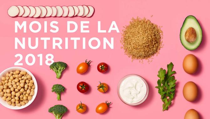 Mars, Mois de la nutrition