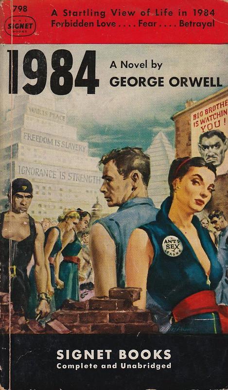 עטיפת הספר 1984