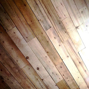Rough Sawn Planking for Ceiling