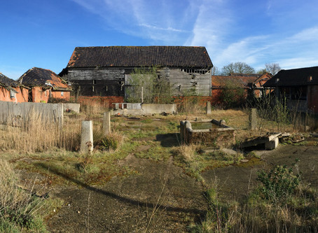 Planning approved! Barn complex, Chelmondiston