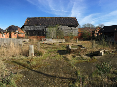 Planning approved! Barn complex, Chelmondiston