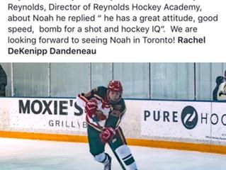 Congrats to Noah Dandeneau on HD Engine Hockey. Best of Luck!!