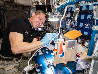 Videoconference with Col. Mike Hopkins onboard the ISS and Reynolds Hockey Academy