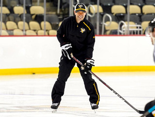 Good friend and frequent Coach here at Reynolds Hockey Academy...  Ty Hennes with the Penguins