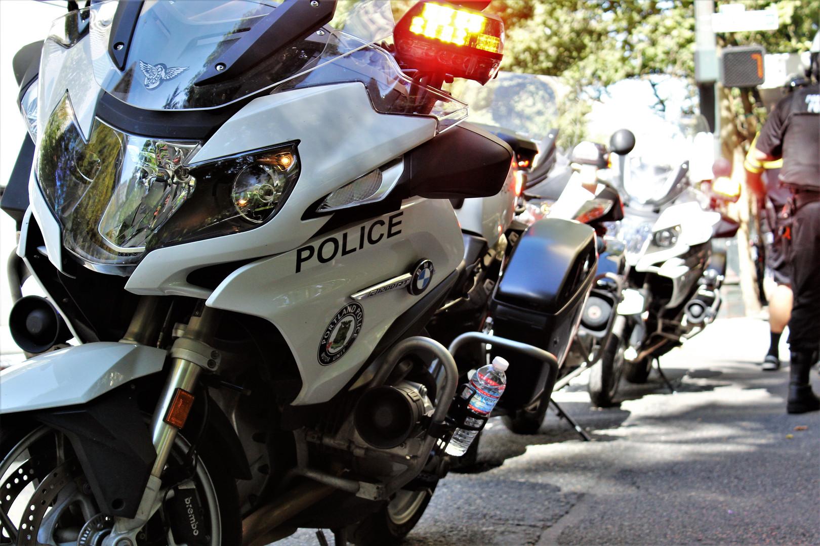 Motorcycle Blockade