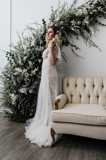 Venue | @lightroompdx Hair & Makeup | @merkleyartistry Florals | @oakgrovefloral Silk Ribbon | @waterlilies_styling Rentals | @vintagemeetsmodern Paper Goods & Signage | @lettersanddust Gown & Accessories | @charlottesweddings @justinalexander Bridal Model | @lindseyelizabeth.model Women's Boutique | @sweetjaynebroadway Design, Planning, & Styling | @kameaevents