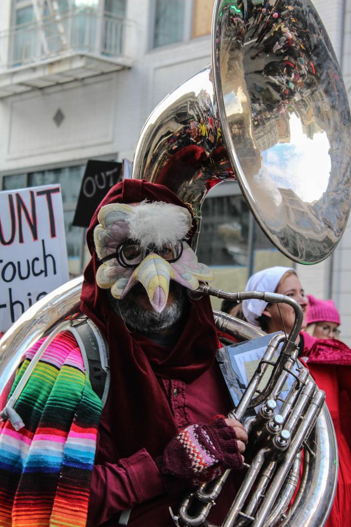 Masked Tuba