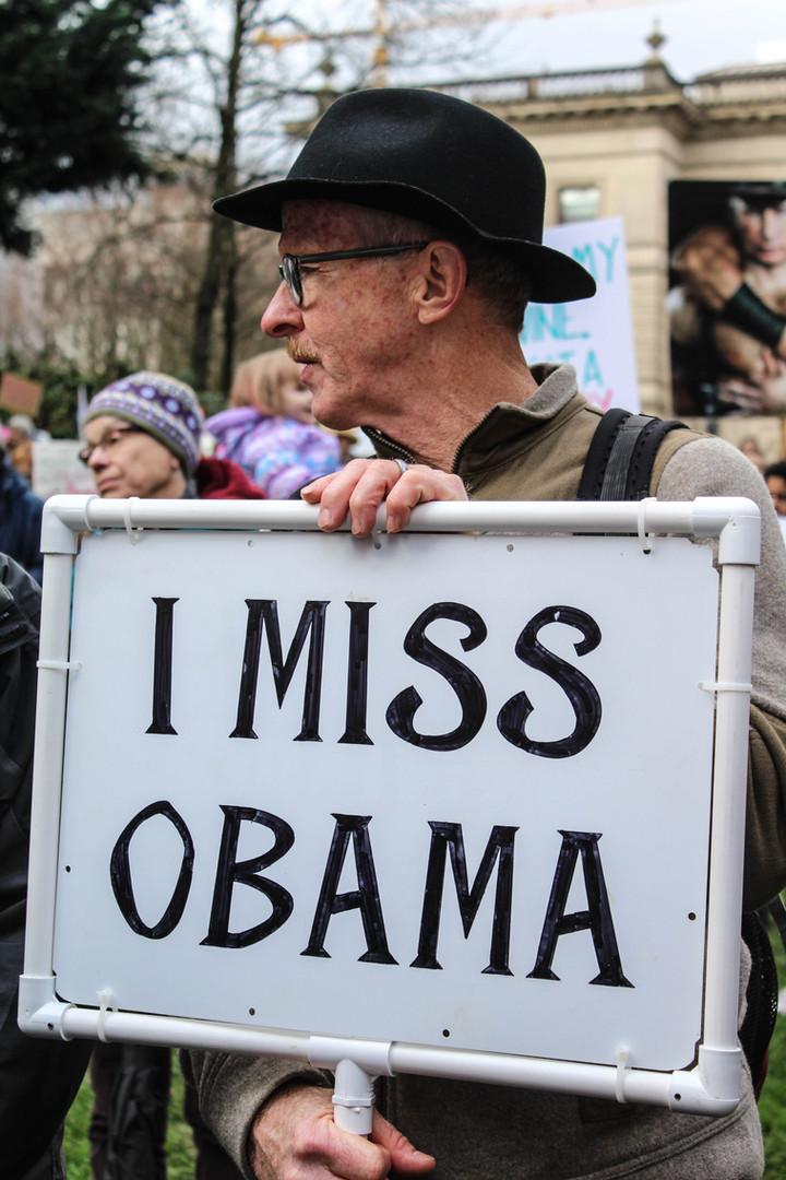 Missing Obama