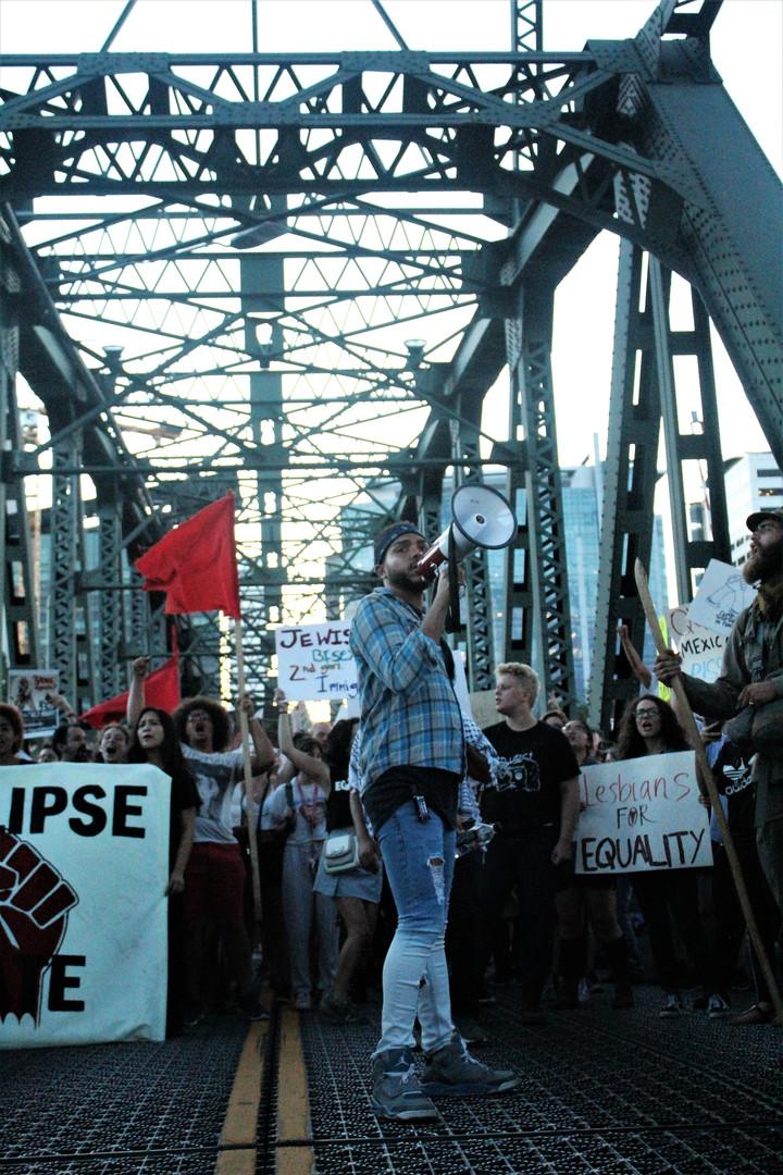 Speach on the Bridge
