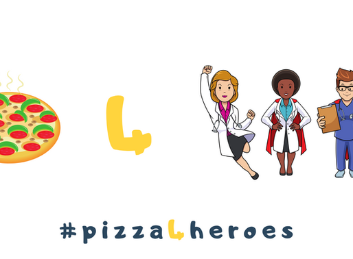 #PizzaForHeroes