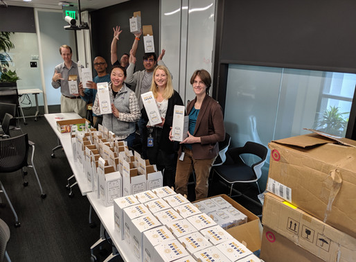 @Tableau Software builds 270Kits for Children in Bay Area