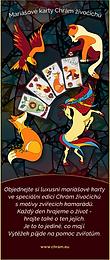 Nová série mariášových karet na podporu zvířat a chrámu.