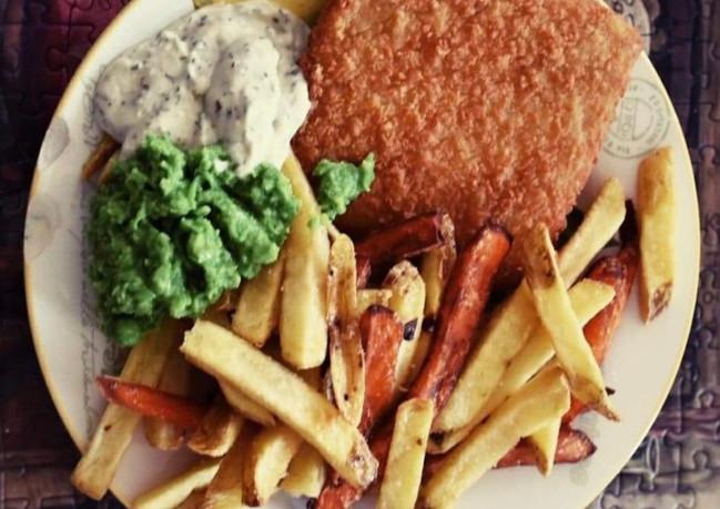 Nofish & chips.