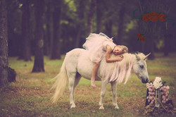 Pais with Popcorn unicorn