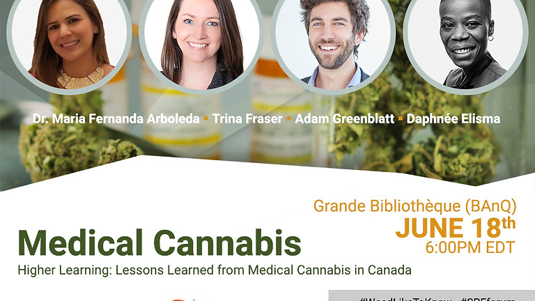 Higher Learning: Lessons Learned from Medical Cannabis in Canada (Public Forum)