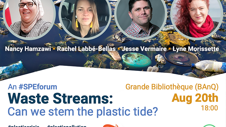 #SPEForum — Waste Streams: Can we stem the plastic tide?