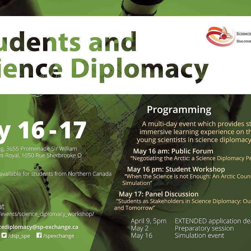 Students & Science Diplomacy Workshop