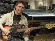 Steve C Wilson (guitars/bass/songwriter) Sound Menagerie. Photo © Abi Parker