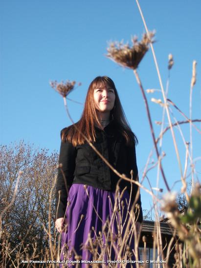 Abi Parker (Vocals) Sound Menagerie. Photo © Stephen C Wilson