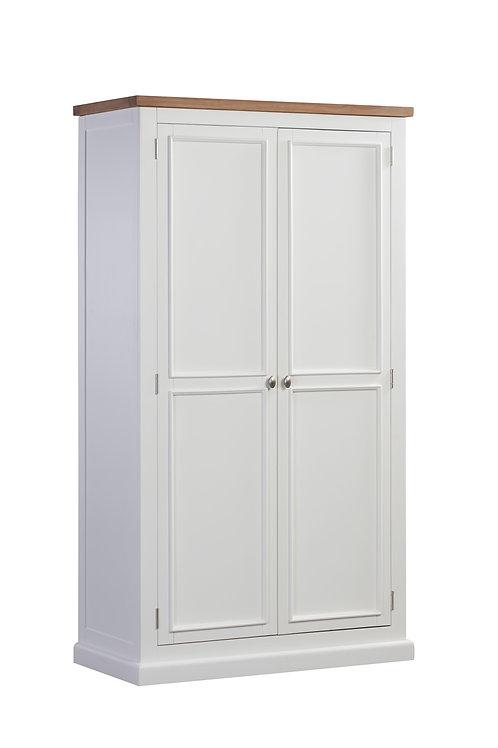 Ancona White 2 Door Wardrobe