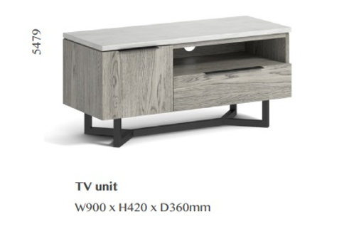 Docklands Small TV Unit