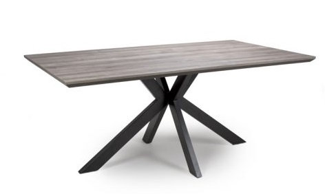 Manhattan Extending Table 1.8-2.2m plus 6 Charlie Carver Chairs