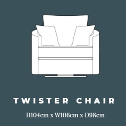 Izzy by Lebus Twister Chair