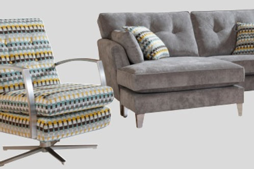 Evie Grand Sofa by Alstons Upholstery