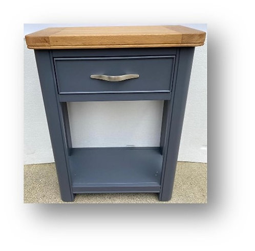 Oxford Blue 1 Drawer Console