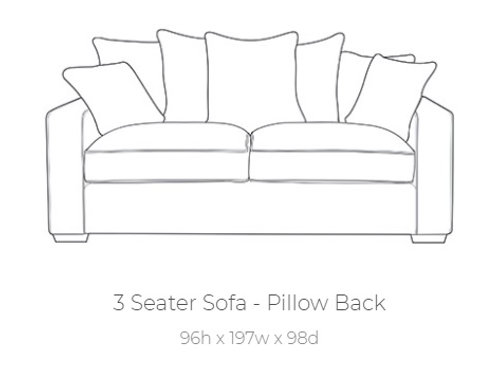 Chicago 3 Seater Suite by Buoyant