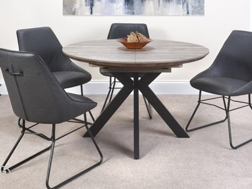 Manhattan Extending Round Table 1.2m - 1.6m